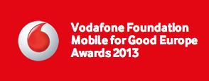 Vodafone Foundation Mobile for Good Europe Awards 2013